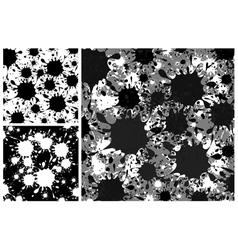 blots background vector image