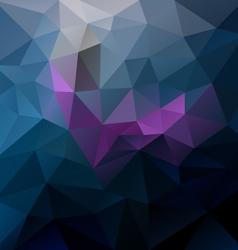 dark blue purple violet colored polygon triangular vector image