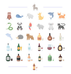 Drinks liquid products and other web icon in vector