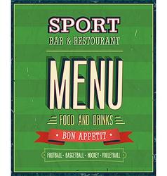Sport Bar vector