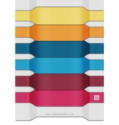 Textiles modern banners vector