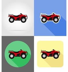 Transport flat icons 47 vector