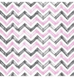 vintage zigzag pattern vector image vector image