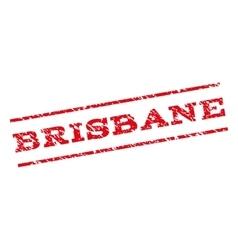 Brisbane Watermark Stamp vector image vector image