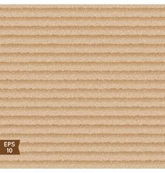 Seamless cardboard texture vector image