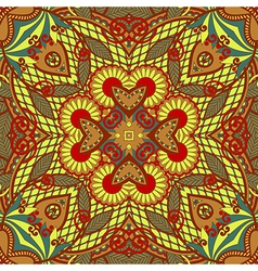 hand draw original retro paisley seamless pattern vector image