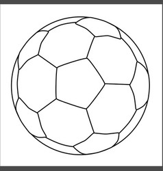 All white bootball vector
