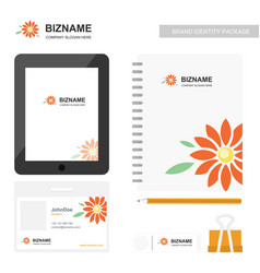 Company app screen design and also with vector