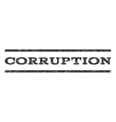 Corruption Watermark Stamp vector