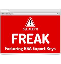 Freak - factoring rsa export keys security vector