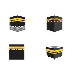 kaaba icon vector image