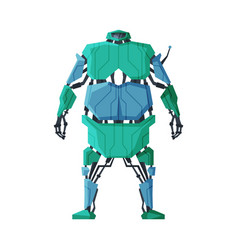 Robot android future robotic technology vector