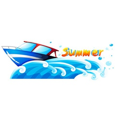 Summer artwork vector image