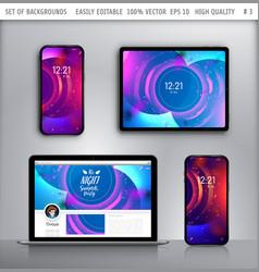 wallpaper for smartphone vector image