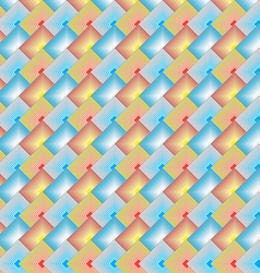 Rectangle Scale Pattern vector image vector image