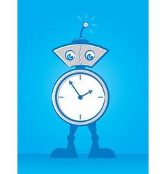 Reminder Robot vector image