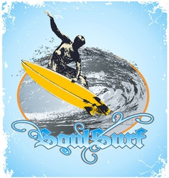 soul surf vector image vector image