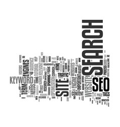 The beginner s guide to seo text background word vector