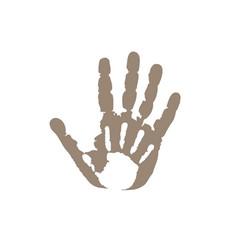 2 palms vector