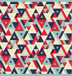 abstract geometric background - seamless vector image