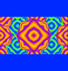 op art retro futuristic background optical vector image