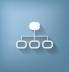 server network vector image