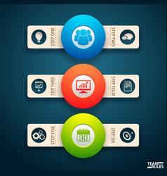 Smart tips band concept vector