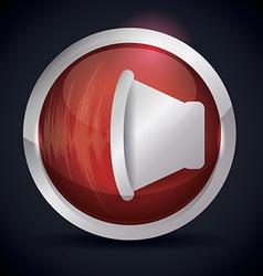 Sound design vector image