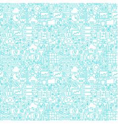 Filter funnel seamless pattern vector