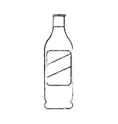 beer bottle icon image vector image