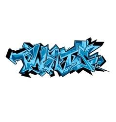 Graffiti urban art vector image