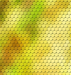 Autumn themed background with circular grid vector image vector image
