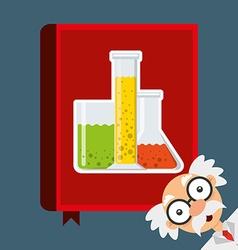 science book vector image