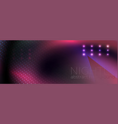 abstract glowing dark background vector image