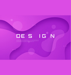 abstract gradient geometric design colorful wavy vector image