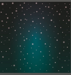 blue space background with stars cosmos night vector image