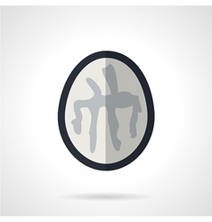 Brain CT flat icon vector image