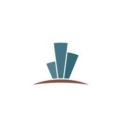 buildings tower logo icon symbol design vector image