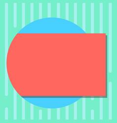 Design business concept empty copy space modern vector