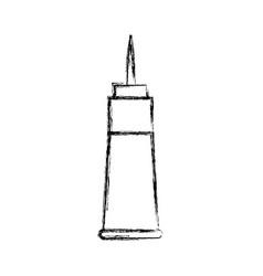 Lightning rod icon vector