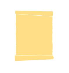 parchment on a white background old papyrus blog vector image