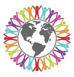 People around world vector