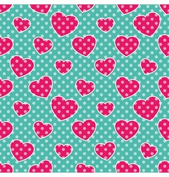 Pop Art Hearts vector