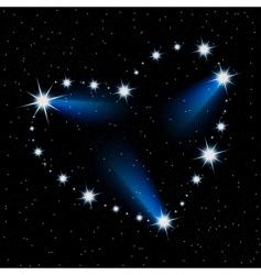 Stars sky vector