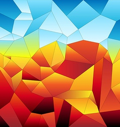 Mosaic tiles-futuristic vector image vector image