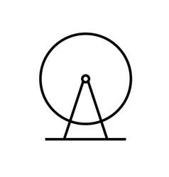 ferris icon vector image vector image