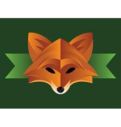 Fox Graphic vector image vector image
