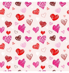 Love pattern texture vector image