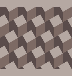 a seamless repeating pattern of isometric house vector image