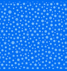 abstract composition snowflakes seamless vector image